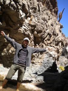 Me in the Atacama dessert