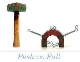 Push vs. Pull
