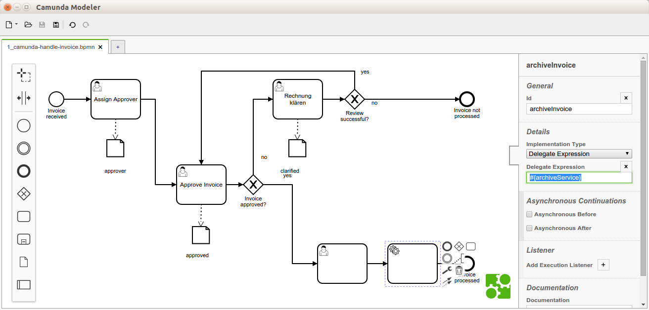 the brand new camunda modeler based on bpmnio just proved that it can already play in the champions league of bpmn modeling what is the champions league - Bpmn Modeling Tool